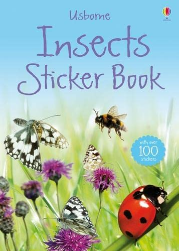 Insects Sticker Book (Usborne Nature Sticker Books): Anthony Wootton