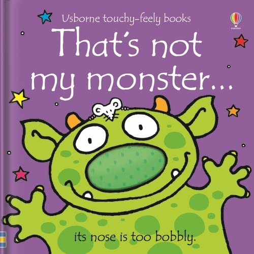 9781409520986: That's Not My Monster...(Usborne Touchy-Feely Books)