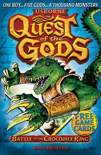 9781409521075: Battle of the Crocodile King (Quest of the Gods)