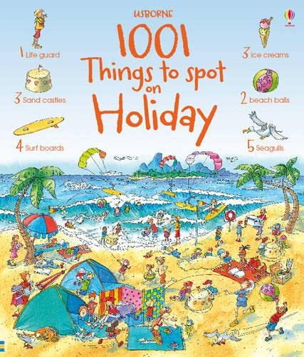 9781409521198: 1001 Things to Spot on Holiday (Usborne 1001 Things to Spot)
