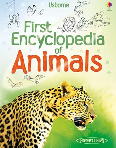 9781409522423: First Encyclopedia of Animals (Usborne First Encyclopedia)