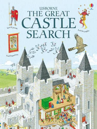 9781409522454: The Great Castle Search (Usborne Great Searches)