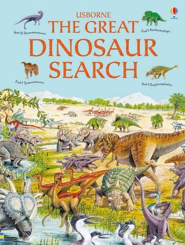 9781409522461: The Great Dinosaur Search (Usborne Great Searches)