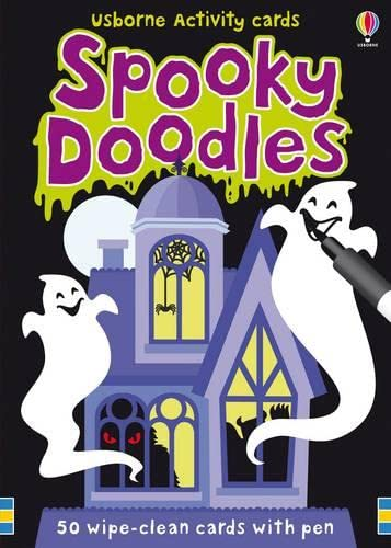 9781409522836: Usborne Activity Cards Spooky Doodles (Activity and Puzzle Cards)