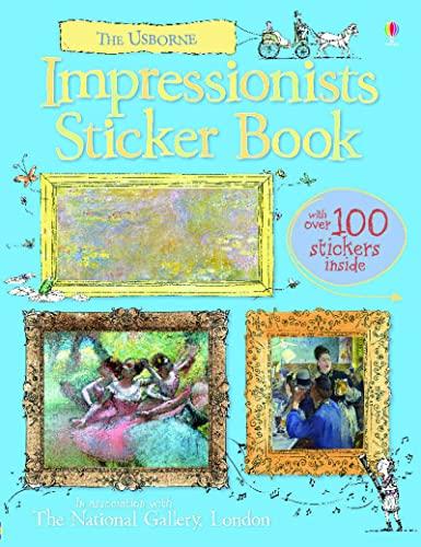 9781409522881: Impressionists Sticker Book (Usborne Sticker Books)