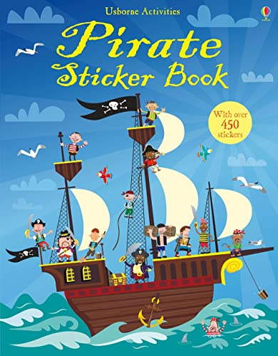 9781409522935: Pirate Sticker Book
