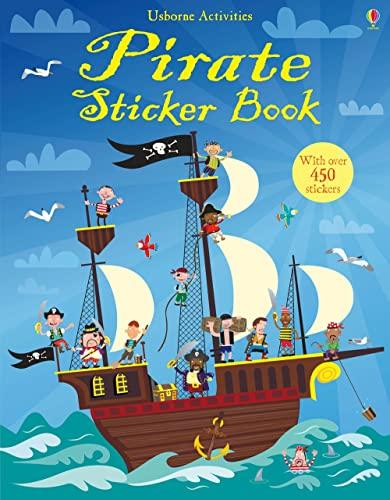 9781409522935: Pirate Sticker Book (Usborne Sticker Books)