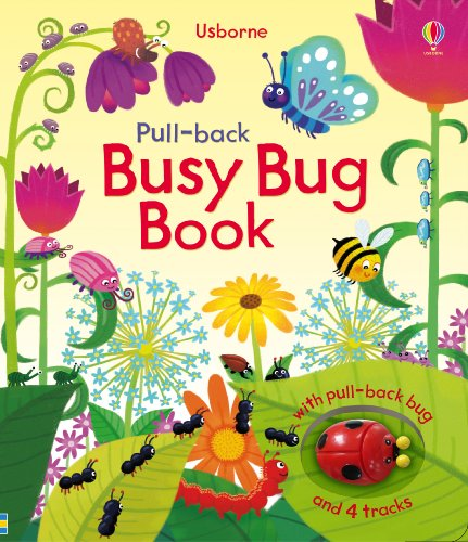 9781409522980: Pull-Back Busy Bug Book