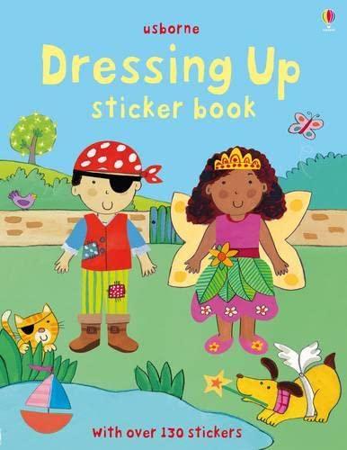 9781409522997: Dressing Up Sticker Book (Usborne Sticker Books)