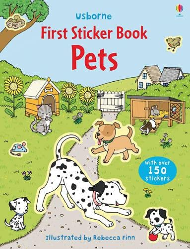 9781409523093: Pets (Usborne First Sticker Books)