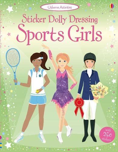 9781409523123: Sport Girls: Sticker Dolly Dressing (Usborne Sticker Dolly Dressing)