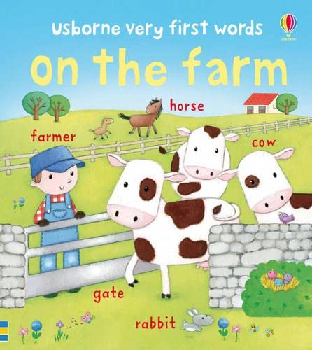 9781409523161: Very First Words: On the Farm (Usborne Very First Words)