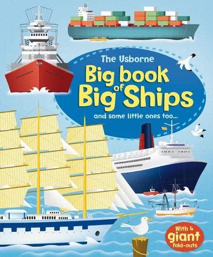 9781409523253: Big Book of Big Ships (Usborne Big Book of Big Things) (Big Books of Big Things)
