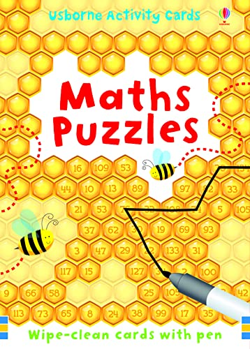 9781409524243: Maths Puzzles (Usborne Puzzle Cards)