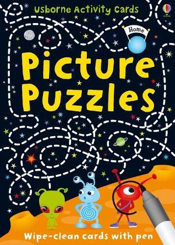 9781409524267: Picture Puzzles (Usborne Puzzle Cards)