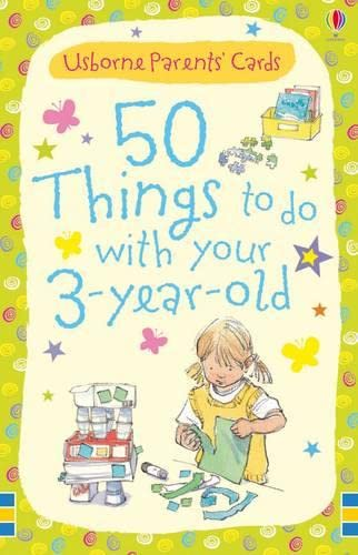 9781409524397: 50 Things to Do with Three-year-olds (Usborne Parents Cards)
