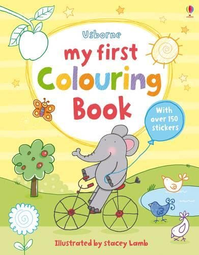 9781409524434: My First Colouring Book (First Colouring Books)