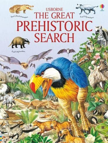 9781409524908: Great Prehistoric Search (Usborne Great Searches)