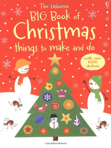 9781409525202: Big Book of Christmas Things to Make and Do (Usborne Activity Books)