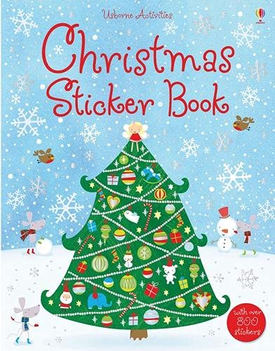 9781409525219: Christmas Sticker Book (Usborne Sticker Books)