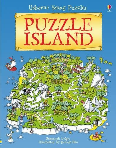 9781409525462: Puzzle Island (Usborne Young Puzzles)
