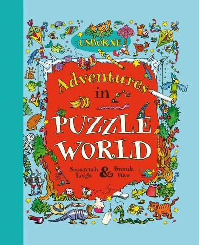 9781409526308: Adventures in Puzzle World (Usborne Young Puzzles)