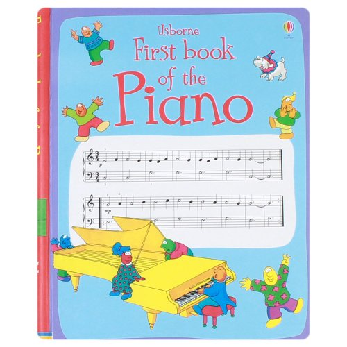 9781409526834: Usborne First Book of the Piano