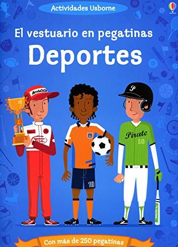 9781409528470: DEPORTES - VESTUARIO EN PEGATINAS (Spanish Edition)