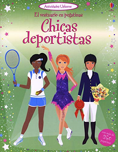 9781409529101: Chicas deportistas - el vestuario en pegatinas
