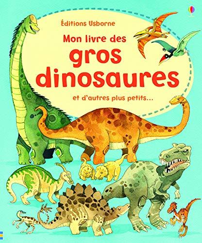 9781409529378: MON LIVRE DES GROS DINOSAURES ET D'AUTRES PLUS PETITS...