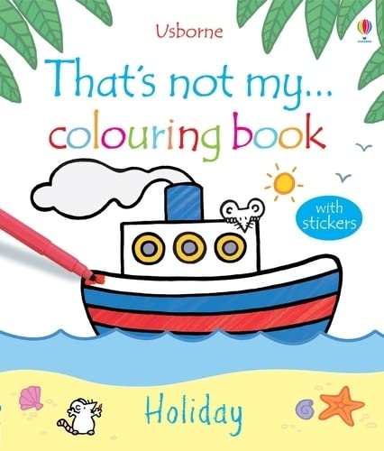 9781409530480: Holiday (That's Not My...Colouring Book)