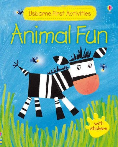 9781409530534: Animal Fun (Usborne Preschool Activities)