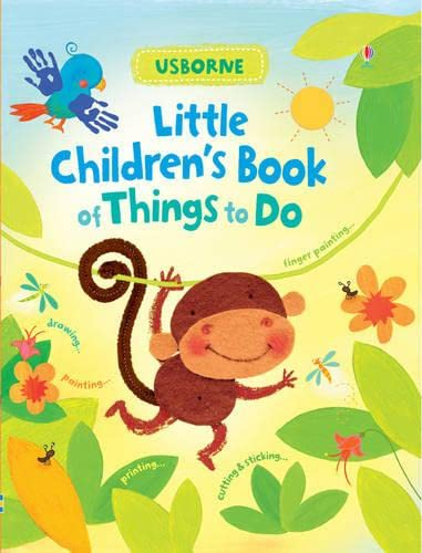 9781409530657: Little Children's Book of Things to Do (Usborne Activity Books)