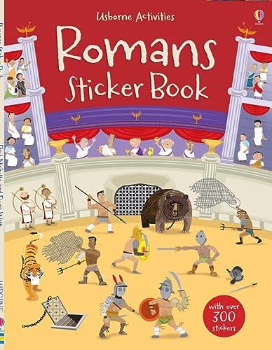 9781409530725: Romans Sticker Book (Usborne Sticker Books)