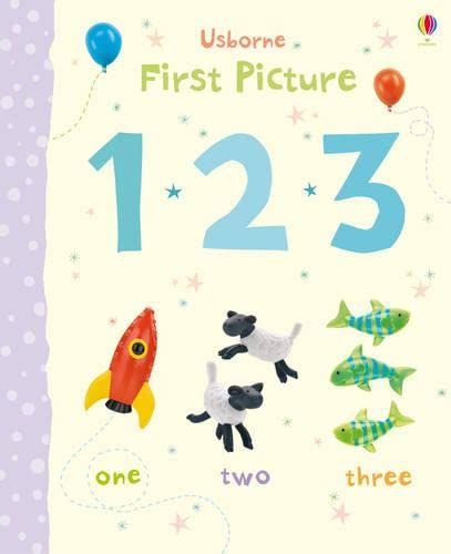 9781409531005: 123 (Usborne First Picture Books)