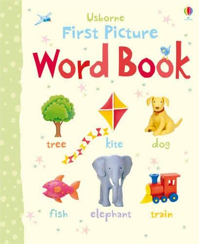 9781409531029: Word Book (Usborne First Picture Books)