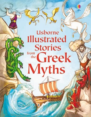 9781409531678: Illustrated Stories from the Greek Myths