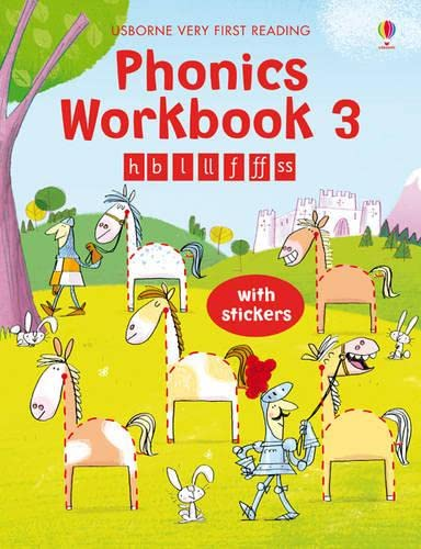 9781409531685: Phonics Workbook 3 (Usborne Very First Reading)