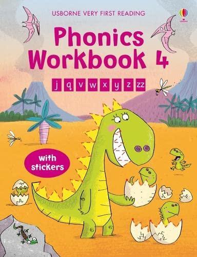 Phonic Workbook 4 (Usborne Very First Reading): MacKinnon, Mairi