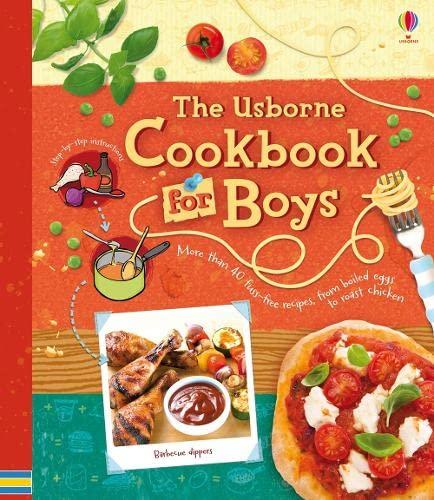 9781409532293: Cookbook for Boys (Usborne Cookbooks)