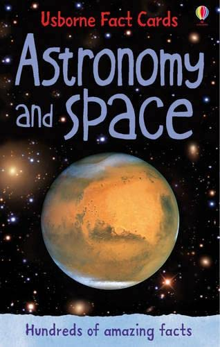 9781409532354: Astronomy and Space (Usborne Fact Cards)