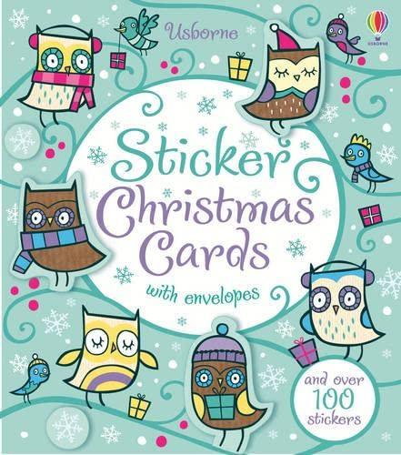 Sticker Christmas Cards (Usborne Sticker Cards): Candice Whatmore