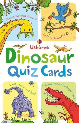 9781409532415: Dinosaur Quiz (Usborne Quiz Cards)