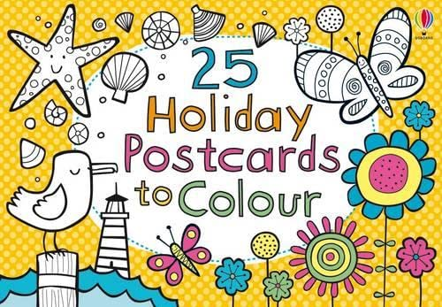9781409532484: 25 Holiday Postcards to Colour (Activity and Puzzle Cards)