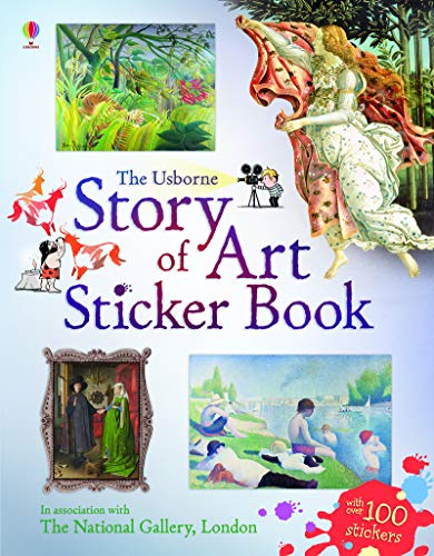 9781409532774: Story of Art Sticker Book