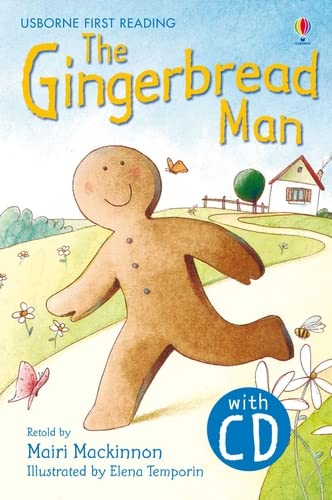 9781409533399: The Gingerbread Man. Book + CD: Usborne English-Lower Intermediate (Level 3) (Usborne First Reading)