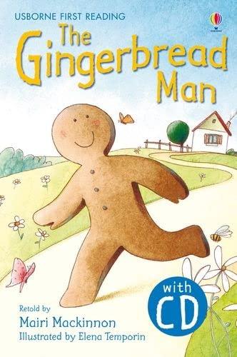 9781409533399: The Gingerbread Man. Book + CD: Usborne English-Lower Intermediate (Level 3)