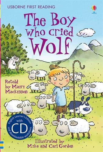 9781409533481: Boy Who Cried Wolf (Usborne First Reading)