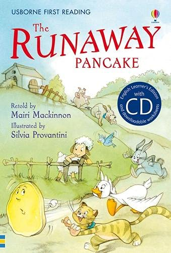 9781409533757: The Runaway Pancake. Book + CD: Usborne English-Intermediate (Level 4)