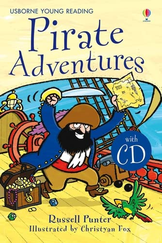 9781409533900: Pirate Adventures. Book + CD: Usborne English-Upper Intermediate